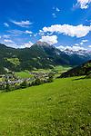 Oesterreich, Salzburger Land, Pongau, Kleinarl: Hauptort des Kleinarltals am Rande des Nationalparks Hohe Tauern   Austria, Salzburger Land, region Pongau, Kleinarl: main village at valley Kleinarltal adjacent to the National Park Hohe Tauern