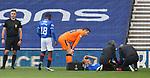04.10.2020 Rangers v Ross County: Borna Barisic injured