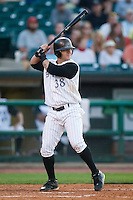 Louisville second baseman Aaron Herr (38) at bat versus Charlotte at Louisville Slugger Field in Louisville, KY, Tuesday, June 5, 2007.