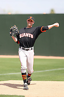 Joe Paterson, San Francisco Giants 2010 minor league spring training..Photo by:  Bill Mitchell/Four Seam Images.