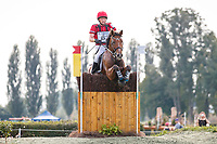 AUT-Dr. Harold Ambros rides Lexikon 2 during the Cross Country. 2021 SUI-FEI European Eventing Championships - Avenches. Switzerland. Saturday 25 September 2021. Copyright Photo: Libby Law Photography
