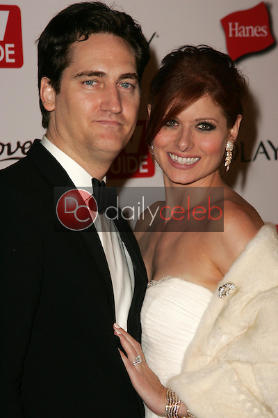 Daniel Zelman and Debra Messing<br />at the TV Guide Emmy After Party. Social, Hollywood, CA. 08-27-06<br />Dave Edwards/DailyCeleb.com 818-249-4998