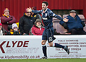 County's Rocco Quinn celebrates after he scores County's first...