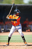San Francisco Giants Robinson Medrano (26) during an Instructional League game against the Los Angeles Angels of Anaheim on October 13, 2016 at the Tempe Diablo Stadium Complex in Tempe, Arizona.  (Mike Janes/Four Seam Images)