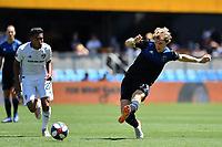 SAN JOSE, CA - JUNE 8: Florian Jungwirth #23 during a game between FC Dallas and San Jose Earthquakes at Avaya Stadium on June 8, 2019 in San Jose, California.