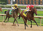 September 06, 2014:Cristina's Journey and jockey Miguel Mena win the Pocahontas Grade 2 $200,000 at Churchill Downs.   Candice Chavez/ESW/CSM