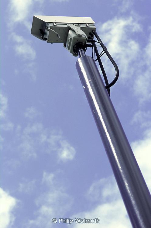 CCTV camera, Mile End, Tower Hamlets