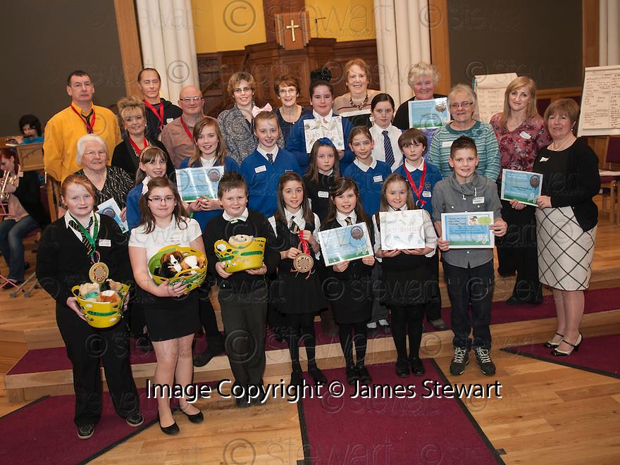 Litter Strategy Awards 2013 : Councillor Craig R Martin presents the award for