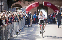 Fernando Gaviria (COL/UAE-Emirates)<br /> <br /> 13th Strade Bianche 2019 (1.UWT)<br /> One day race from Siena to Siena (184km)<br /> <br /> ©kramon