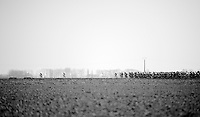 After leaving the coast, the peloton gets into the open 'Polders' where usually wind is king (but not today) and the first attackers of the day manage to escape from the pelotons grip<br /> <br /> 3 Days of West-Flanders 2015<br /> stage 2: Nieuwpoort - Ichtegem 184km