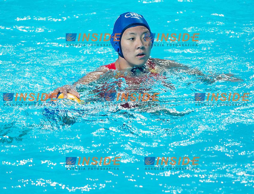 SUN Yating CHN<br /> Preliminary Round II<br /> Waterpolo - Waterpolo Arena<br /> Day09 01/08/2015<br /> XVI FINA World Championships Aquatics Swimming<br /> Kazan Tatarstan RUS July 24 - Aug. 9 2015 <br /> Photo A.Masini/Deepbluemedia/Insidefoto