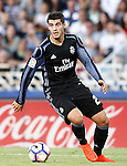 Real Madrid's Alvaro Morata during La Liga match. August 21,2016. (ALTERPHOTOS/Acero)