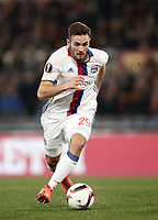 Football Soccer: Europa League Round of 16 second leg, Roma-Lyon, stadio Olimpico, Roma, Italy, March 16,  2017. <br /> Lyon's Lucas Tousart in action during the Europe League football soccer match between Roma and Lyon at the Olympique stadium, March 16,  2017. <br /> Despite losing 2-1, Lyon reach the quarter finals for 5-4 aggregate win.<br /> UPDATE IMAGES PRESS/Isabella Bonotto