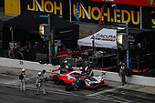 #7: Acura Team Penske Acura DPi, DPi: Helio Castroneves, Ricky Taylor, Pit Stop