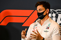 30th October 2020, Imola, Italy; FIA Formula 1 Grand Prix Emilia Romagna, inspection day; Toto Wolff AUT, Mercedes AMG Petronas Motorsport