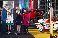 OVIEDO, SPAIN- October 15: **NO SPAIN** King Felipe VI of Spain, Queen Letizia of Spain, Crown Princess Leonor, Princess Sofia visits LA FPABRICA, La Vega Weapon Factory during Princess of Asturias Awards 2020 on October 15, 2020 in Oviedo, Spain. Credit: Jimmy Olsen/MediaPunch