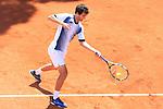 24th April 2019, Real Club de Tenis, Barcelona, Spain; ATP 500, Barcelona Open Banc Sabadell, day 3; picture show Albert Ramos (ESP) vs DAniil Medvedev (RUS)