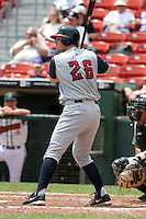 Toledo Mudhens Brian Peterson during an International League game at Dunn Tire Park on June 8, 2006 in Buffalo, New York.  (Mike Janes/Four Seam Images)