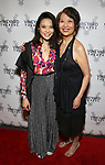 """Tiffany Villarin and Jeannie Sakata attending the Opening Night Afterparty for The Vineyard Theatre production of  """"Do You Feel Anger?"""" at the Vineyard Theatre on April 2, 2019 in New York City."""