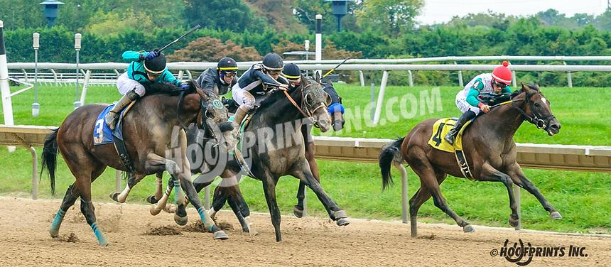 The Robert winning at Delaware Park on 10/6/21