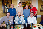 Enjoying the evening in the Brogue Inn on Friday. Seated l to r; Damien Griffin, Denis Riordan and Padraig O'Riley. Back l to r: Donal Laddin, Kevin Moore, Tony Harty and John Ross  .