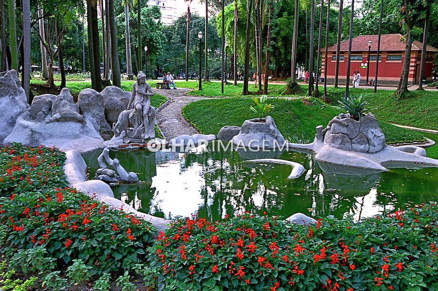 Parque Jardim da Luz em São Paulo. 2004. Foto de Juca Martins.