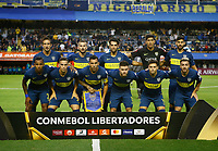 "BUENOS AIRES-ARGENTINA, 12-03- 2019: Los jugadores de Boca Juniors (COL), posan para una foto, antes de partido de la fase de grupos, grupo G, fecha 2, entre Boca Juniors (ARG) y Deportes Tolima (COL), por la Copa Conmebol Libertadores 2019, en el estadio Alberto J. Armando ""La Bombonera"", de la ciudad Ciudad Autónoma de Buenos Aires. / The players of Boca Juniors (ARG), pose for a photo, prior a match of the groups phase, group G, 2nd date, beween Boca Juniors (ARG) and Deportes Tolima (COL), for the Conmebol Libertadores Cup 2018, at the Alberto J. Armando ""La Bombonera"" Stadium, in Ciudad Autonoma de Buenos Aires.  Photo: VizzorImage / Javier García Martino / Photogamma / Cont."