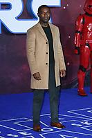 "David Oleyolo<br /> arriving for the ""Star Wars: The Rise of Skywalker"" premiere at the Cineworld Leicester Square, London.<br /> <br /> ©Ash Knotek  D3545 17/12/2019"