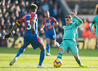 Arsenal's Lucas Torreira during the Premier League match between Crystal Palace and Arsenal at Selhurst Park, London, England on 28 October 2018. Photo by Andrew Aleksiejczuk / PRiME Media Images.
