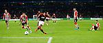 Nederland, Eindhoven, 15 september 2015<br /> Champions League<br /> Seizoen 2015-2016<br /> PSV-Manchester United<br /> Memphis Depay van Manchester United scoort, 0-1