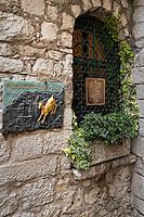 Luxury boutique hotel, Chateau Eza, Cote d'Azur, France