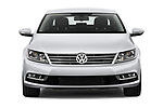 Car photography straight front view of a 2017 Volkswagen CC Sport 4 Door Sedan Front View
