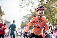 Marianne Vos (NED) post-race<br /> <br /> Elite Women Road Race from Bradford to Harrogate (149km)<br /> 2019 Road World Championships Yorkshire (GBR)<br /> <br /> ©kramon