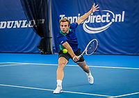Amstelveen, Netherlands, 17  December, 2020, National Tennis Center, NTC, NK Indoor, National  Indoor Tennis Championships, Doubles   :  Tallon Griekspoor (NED) <br /> Photo: Henk Koster/tennisimages.com