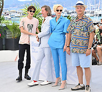 CANNES, FRANCE. July 13, 2021: Timothee Chalamet, Wes Anderson, Tilda Swinton & Bill Murray at the photocall for Wes Anderson's The French Despatch at the 74th Festival de Cannes.<br /> Picture: Paul Smith / Featureflash