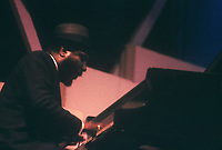 Thelonious Monk performing at The Newport Jazz Festival (c.1959)