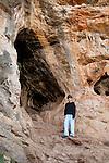 Etzba cave in Wadi Oren