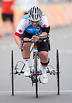 Marie-Eve Croteau, Rio 2016 - Para Cycling // Paracyclisme.<br /> Marie-Eve Croteau competes in the Women's Cycling Road T1-2 Race // Marie-Eve Croteau participent à la course cycliste féminine T1-2 sur route. 16/09/2016.