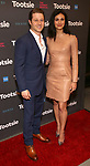 """Ben McKenzie and Morena Baccarin attends the Broadway Opening Night of """"Tootsie"""" at The Marquis Theatre on April 22, 2019  in New York City."""