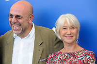 Italian director Paolo Virzi', left, attends a photo call with British actress Helen Mirren, for his movie 'Ella & John - The Leisure Seeker' at the 74th Venice Film Festival, Venice Lido, September 3, 2017. <br /> UPDATE IMAGES PRESS/Marilla Sicilia<br /> <br /> *** ONLY FRANCE AND GERMANY SALES ***