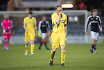 Dundee v St Johnstone….31.12.16     Dens Park    SPFL<br />Steven Anderson who scored an own goal walks off at full time<br />Picture by Graeme Hart.<br />Copyright Perthshire Picture Agency<br />Tel: 01738 623350  Mobile: 07990 594431