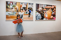 Hong Kong, 6 September 2014<br /> <br /> Opening Martin Parr photo exhibition at the Blindspot Gallery in Wong Chuk Hang at the South Side of Hong Kong Island.<br /> The selection contains new work from Hong Kong and some of his well known older series.<br /> At the same time his latest boek Hong Kong Parr was launched and Martin Parr was there to sign copies.<br /> <br /> Photo Kees Metselaar