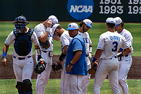The Duke Blue Devils played against the Liberty Flames in NCAA Regional play on Robert M. Lindsay Field at Lindsey Nelson Stadium on June 4, 2021, in Knoxville, Tennessee. (Danny Parker/Four Seam Images)