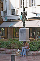 Sculpture by Aristide Maillol. Perpignan, Roussillon, France.