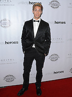 LOS ANGELES, CA, USA - NOVEMBER 08: Austin North arrives at the Unlikely Heroes' 3rd Annual Awards Dinner And Gala held at the Sofitel Hotel on November 8, 2014 in Los Angeles, California, United States. (Photo by Celebrity Monitor)
