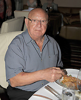 HOLLYWOOD, FL - FEBRUARY 21: (EXCLUSIVE COVERAGE)  Boxing legend and trainer Angelo Dundee has a private dinner with 40 high rollers cooked by celebrity chef Steve Martorano (R)  at the Seminole Hard Rock hotel and casino on February 21 , 2009 in Hollywood Florida. <br /> <br /> People:   Angelo Dundee