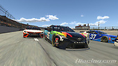 #96: Daniel Suarez, Gaunt Brothers Racing, Toyota Camry, #95: Christopher Bell, Leavine Family Racing, Toyota Camry<br /> <br /> (MEDIA: EDITORIAL USE ONLY) (This image is from the iRacing computer game)