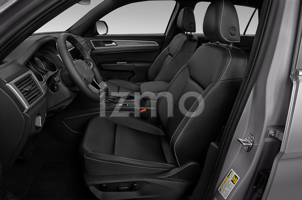 Front seat view of 2020 Volkswagen Atlas-Cross-Sport SE-w/Tech 5 Door SUV Front Seat  car photos