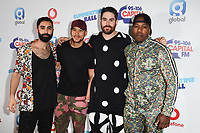 Rudimental<br /> in the press room for the Capital Summertime Ball 2018 at Wembley Arena, London<br /> <br /> ©Ash Knotek  D3407  09/06/2018