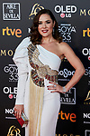 Eva Marciel attends to 33rd Goya Awards at Fibes - Conference and Exhibition  in Seville, Spain. February 02, 2019. (ALTERPHOTOS/A. Perez Meca)